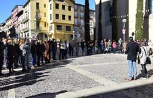 Concentración en la Seu d'Urgell contra el juicio del 1-O