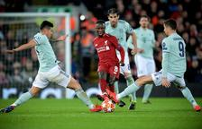 El Liverpool tuvo más ocasiones pero careció de acierto ante el Bayern
