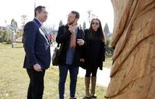 Almacelles estrena un parque escultórico al aire libre con doce piezas