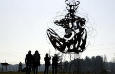 Almacelles abre el parque escultórico con doce piezas