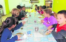 Comedor escolar con más alimentos de la Ribagorça