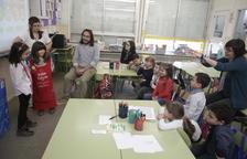 Un col·legi de Lleida recolza i fomenta el plurilingüisme fent classes en quatre idiomes