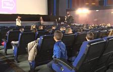 Més de 500 escolars gaudeixen del cinema a Tàrrega