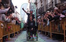 Un atleta de Tàrrega corre 190 km per recaptar fons per escriure un llibre