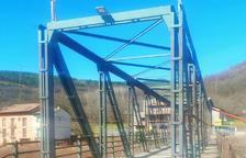 Vilaller mejora el puente que cruza el Noguera Ribagorçana